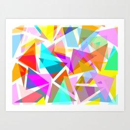 Futurism #4 Art Print