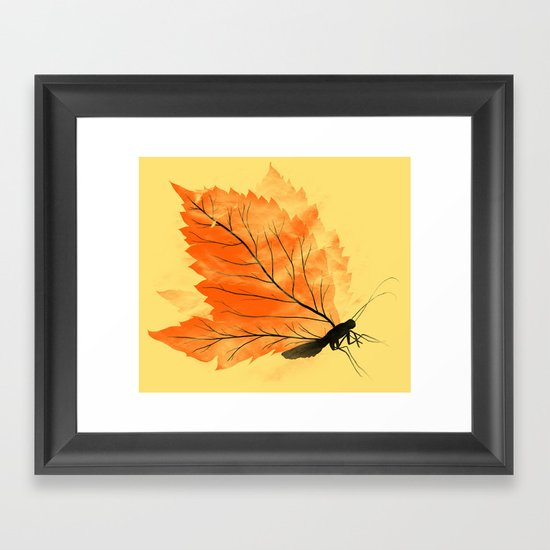 Seasons Change Framed Art Print