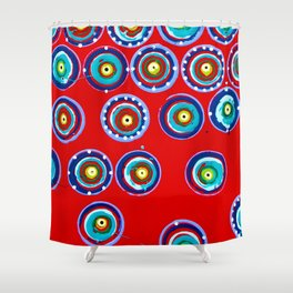 Separate Shower Curtain