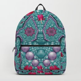 freedom can be flowers hearts and butterflies on earth Backpack