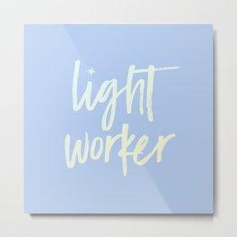Lightworker Metal Print