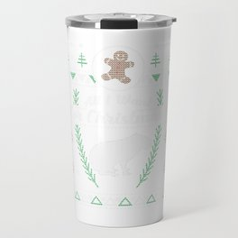 Pet Capybaras Christmas Ugly Shirt Travel Mug