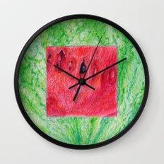 Fresh: Watermelon Wall Clock