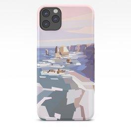 Geometric Great Ocean Road iPhone Case