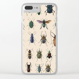 Insects, flies, ants, bugs Clear iPhone Case