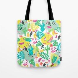 Tropical fruits Tote Bag