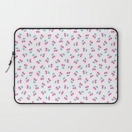 Ditsy pink cherries Laptop Sleeve