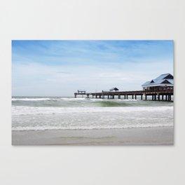 clearwater beach, fl Canvas Print