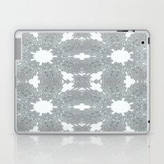 Blue Ice Crystals Laptop & iPad Skin