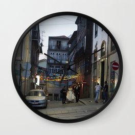Bride-Groom Wall Clock