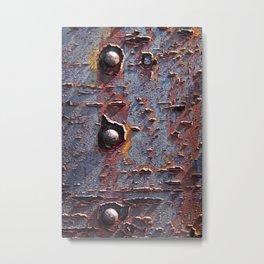 colorful corrosion Metal Print