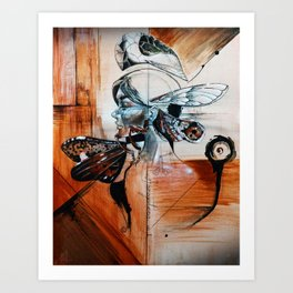 Premium Homoptera no.1 Art Print