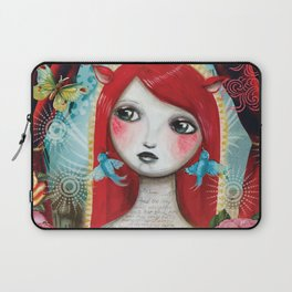 Alice's on Stage by CJ Metzger Laptop Sleeve
