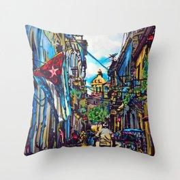Havana, CUBA No.2   2015 Throw Pillow