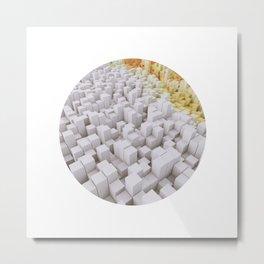 Blocks of Sugar Metal Print