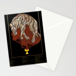"""Blood Offerings"" with Poem Stationery Cards"