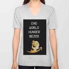 End World Hunger Unisex V-Neck