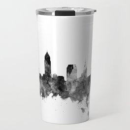 Cleveland Ohio Skyline Travel Mug