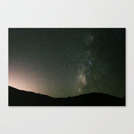 The Way That is Milky Canvas Print