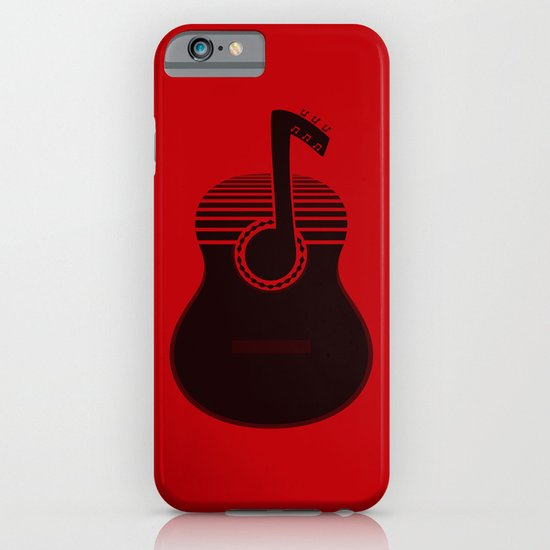 Classical Notes RED iPhone & iPod Case