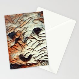 Copper the Havapookie Art Stationery Cards
