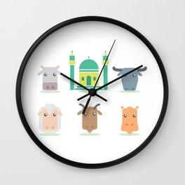 Eid Al Adha Wall Clock