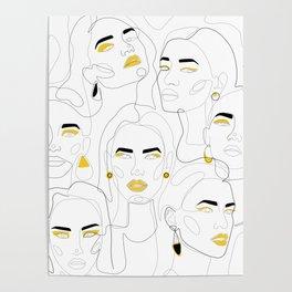 In Mustard Poster