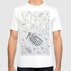 The bagpipes White Mens Fitted Tee MEDIUM
