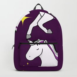Asexual Unicorn Asexual Gift Backpack