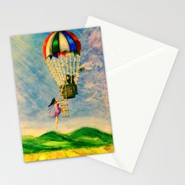 BALLOON LOVE: Flying Away Stationery Cards