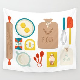 Bakers Table Wall Tapestry