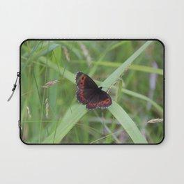 Arran Brown butterfly Laptop Sleeve