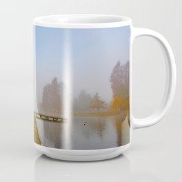 Morning fog at Green Lake, Seattle Coffee Mug