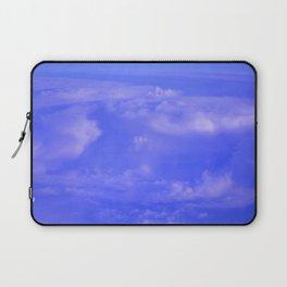 Aerial Blue Hues IV Laptop Sleeve