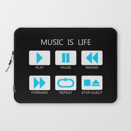 Music Of Button Laptop Sleeve