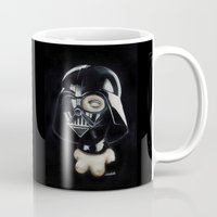 boob Mugs featuring Boob Vader by Nataliette