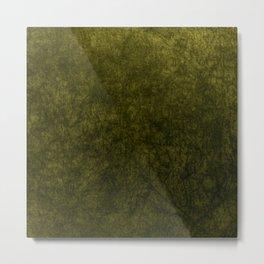 olive green velvet | texture Metal Print
