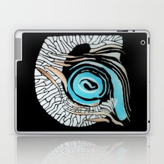 Horn-swirl inv Laptop & iPad Skin