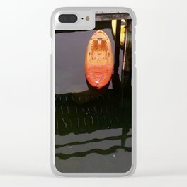 Colorful Kayaks Clear iPhone Case