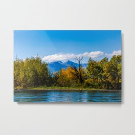 Autumn in Kamchatka Metal Print