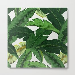 banana leaf palms Metal Print
