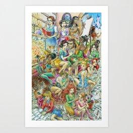 Fairy Tales Tell Tales Art Print