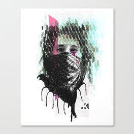RIOT girl Canvas Print