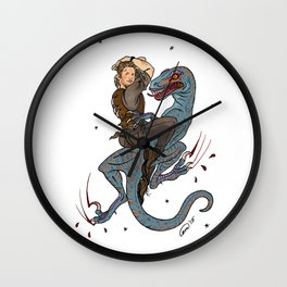 Jurassic World Pin-Ups ~ Owen Grady Wall Clock