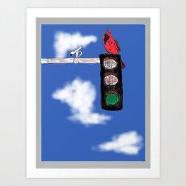 Traffic Stopper Art Print