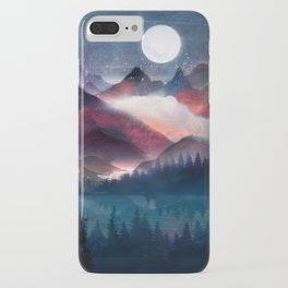 Mountain Lake Under the Stars iPhone Case