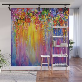 Symphony of flowers Wall Mural