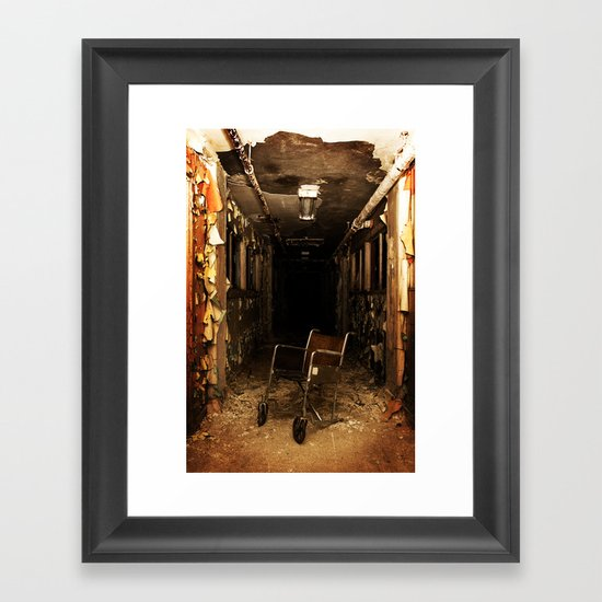 The Darkness Within Framed Art Print
