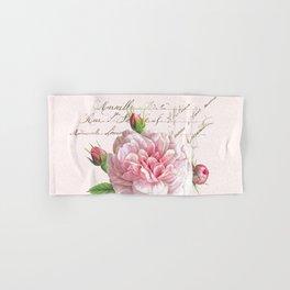 Paris Rose Hand & Bath Towel