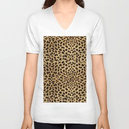 Cheetah Print Unisex V-Neck